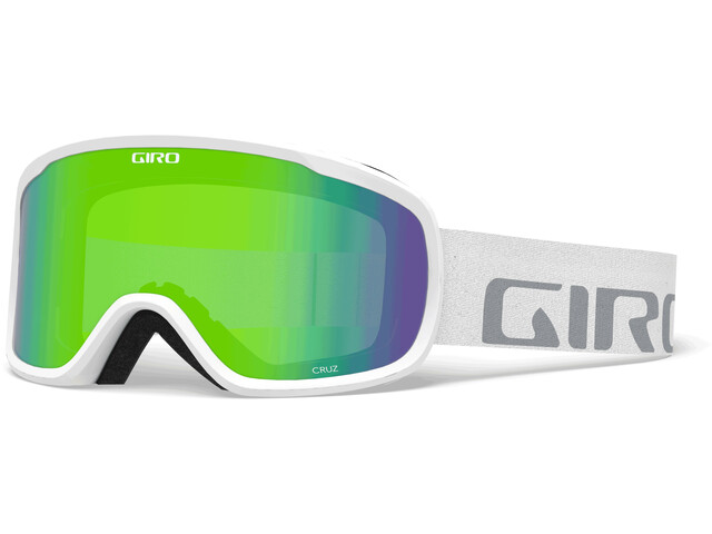 Giro Cruz Lunettes De Protection, white wordmark/loden green